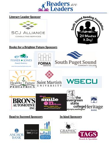 Thank you to our Readers are Leaders Event sponsors! photo